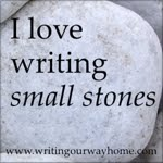 Get our small stones badge