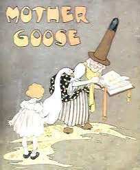 Mother Goose in White
