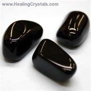 Black Onyx www.healingcrystals.com I