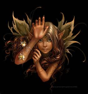 Brown Faerie www.layoutsparks.com I