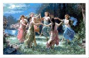 Dancing Faeries www.thepagesofavalon.blogspot.com I