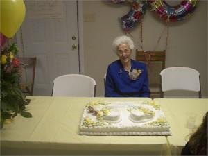Dovie at 90th Birthday