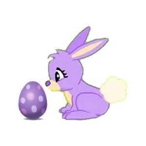 Easter Bunny Purple www.fishworldfyi.com I
