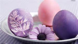 Easter Eggs Purple www.flash-screen.com I