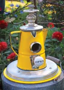 Birdhouse Coffee Pot www.solarforamerica.org
