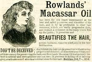 Macassar Hair Oil www.historyworld.co.uk