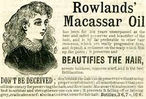 Macassar Hair Oil www.historyworld.co.uk