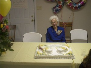 Dovie at 90th Birthday