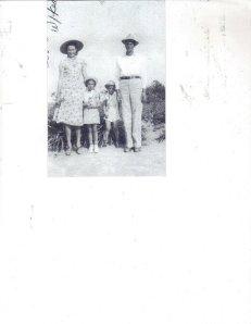 Granny, Polly, Dad, Preston