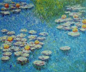 1 Water Lilies Monet 1908 www.1artclub.com I