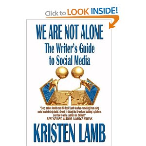 1 We Are Not Alone by Kristen Lamb