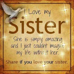 1 Sister