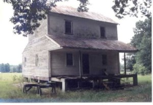 1 A Cabin Home of James Richey, Sr.