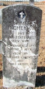 1 A Headstone for Jame Richey Jr.