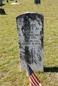 1 A Headstone for James Richey, Sr.