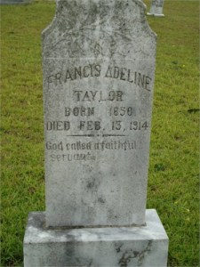 1 Adaline Taylor Headstone