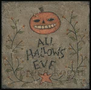 1 All Hallows Eve