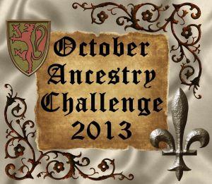 1 Ancestry Challenge October