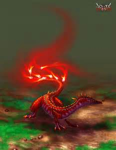 1 Fire Elemental Salamander