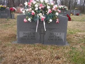 1 Headstone at Mt. Pleasant Cemetery in Grove Oak, Alabama