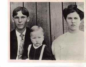 1 James Henry, John Preston, and Della Francis Taylor Beam