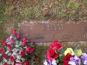 1 John Preston Beam Headstone