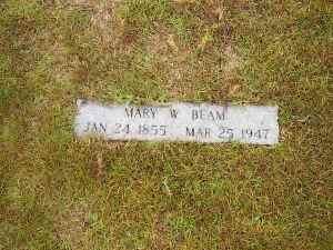 1 Mary Wilabay Beam Tombstone