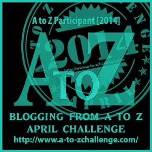 1 A to Z 2014 April Blogging Challenge