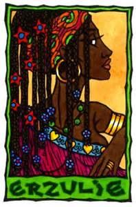 1 A Caribbean Goddess Erzulie www.myhtology.blogspot.com 1