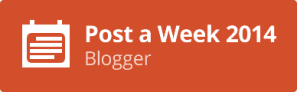 1 A Post A Week Blogger 2014