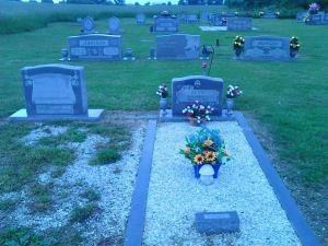 Tony's Grave 2013