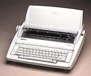 Electric Typewriter www.pinterest.com 1