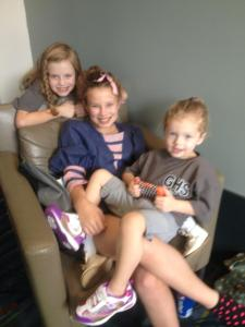 Three Beautiful Granddaughters
