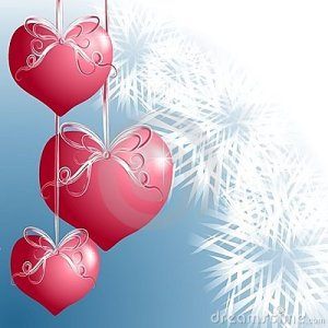 Heart Pink Ornaments