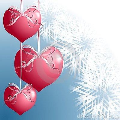 Heart Pink Ornaments