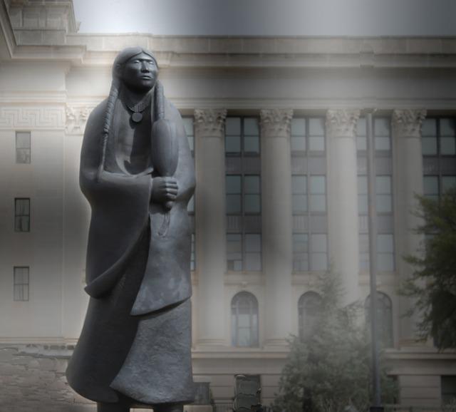 native-american-woman