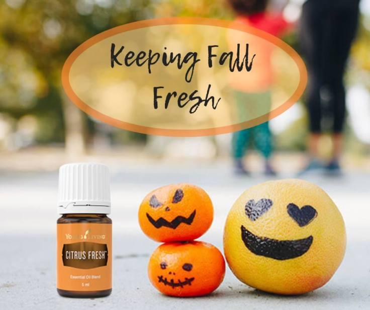 Citrus Fresh Halloween class