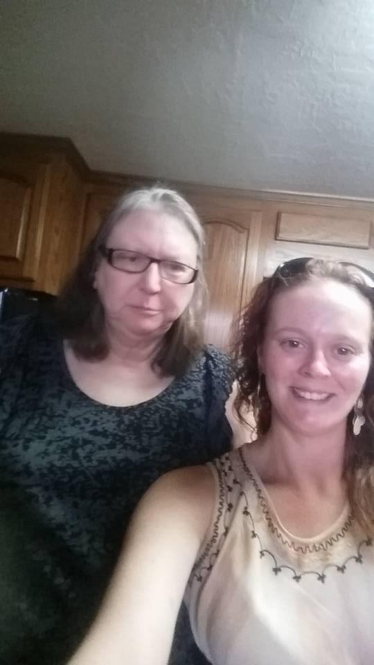 Selfie with Rachel