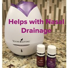 Thieves and Lavender 4 drops each in Diffuser