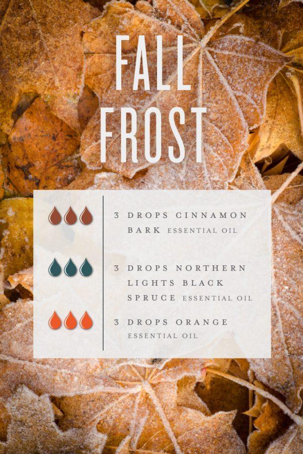 Fall Frost Diffuser Recipe